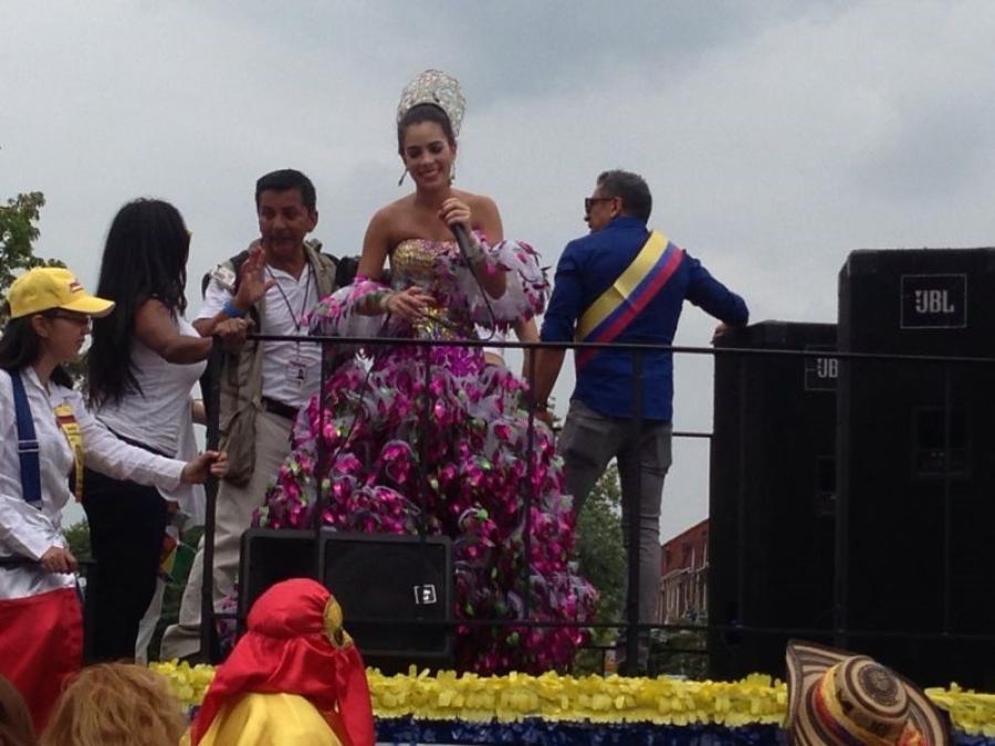 Maqui llevó el Carnaval a las calles de New York