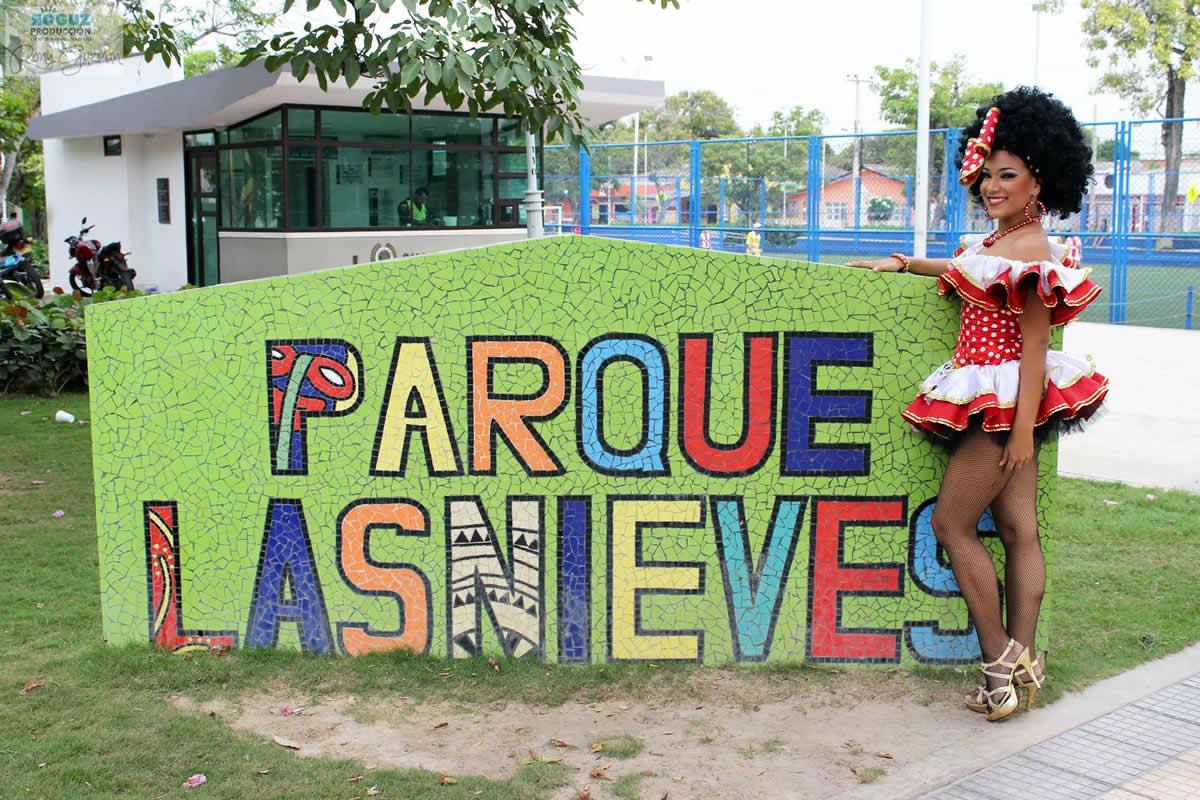 Barrio Las Nieves ya tiene participante en el Reinado Popular 2017