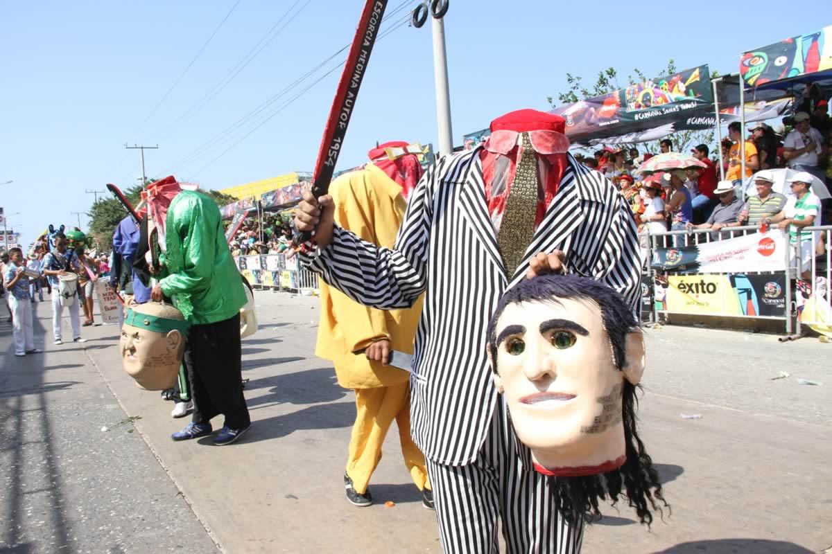 4 disfraces del carnaval de barranquilla