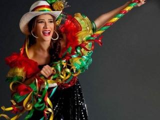 Andrea Jaramillo Char - Reina del Carnaval 2012