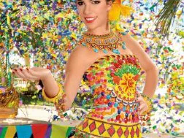 María Margarita Diazgranados - Reina del Carnaval de Barranquilla 2014