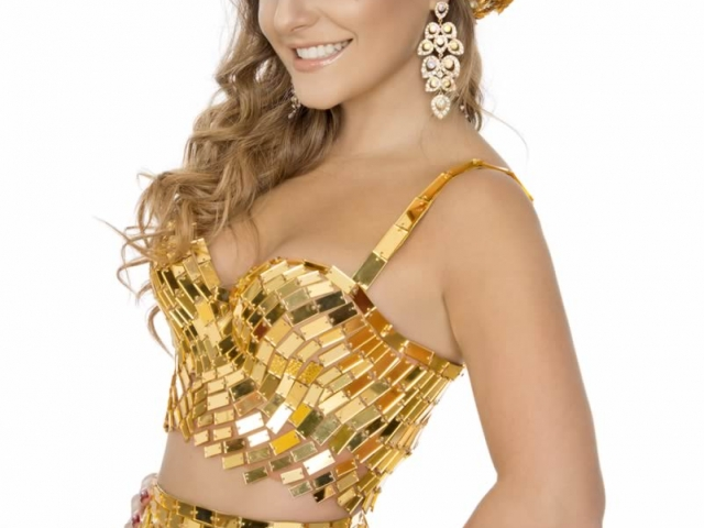 Marcela García Caballero - Reina del Carnaval de Barranquilla 2016