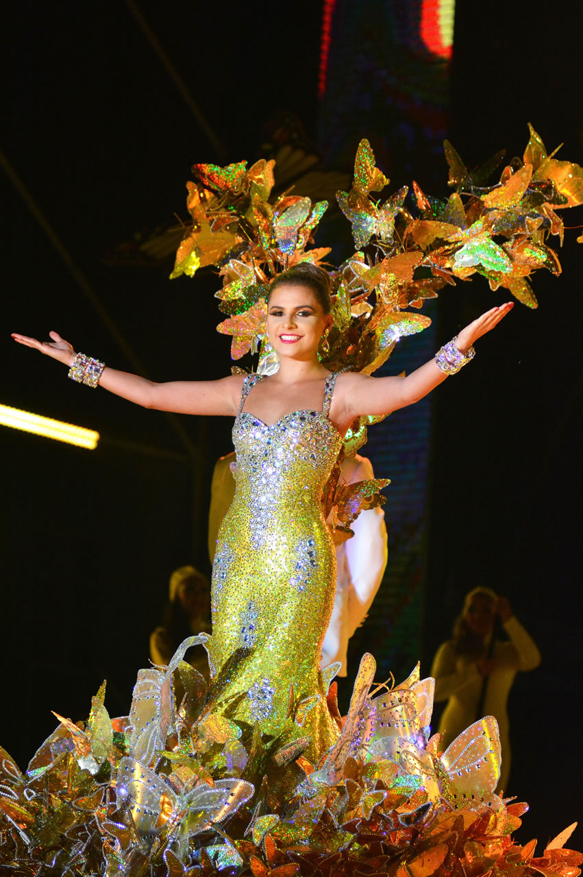 Coronación de la Reina del Carnaval 2016; Marcela García