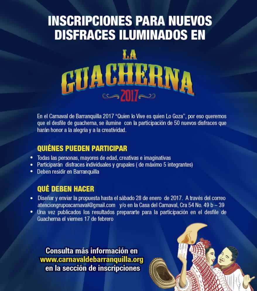 Carnaval de Barranquilla invita a crear 50 nuevos disfraces para la Guacherna