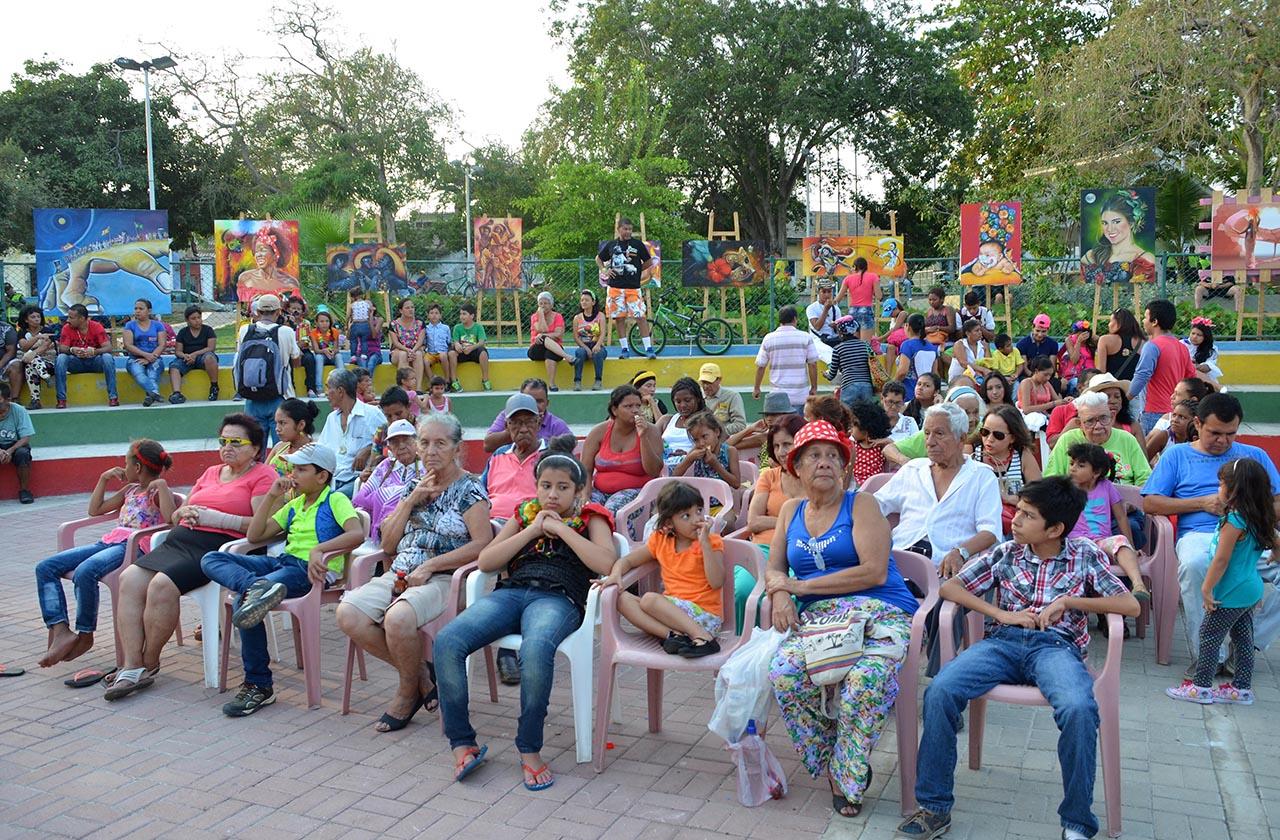 Encuentro de Comedias; Parque Almendra