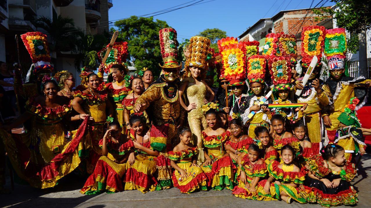 Arranca el pre Carnaval 2017 con izadas de banderas de Cumbiambas, Congos y Comparsas