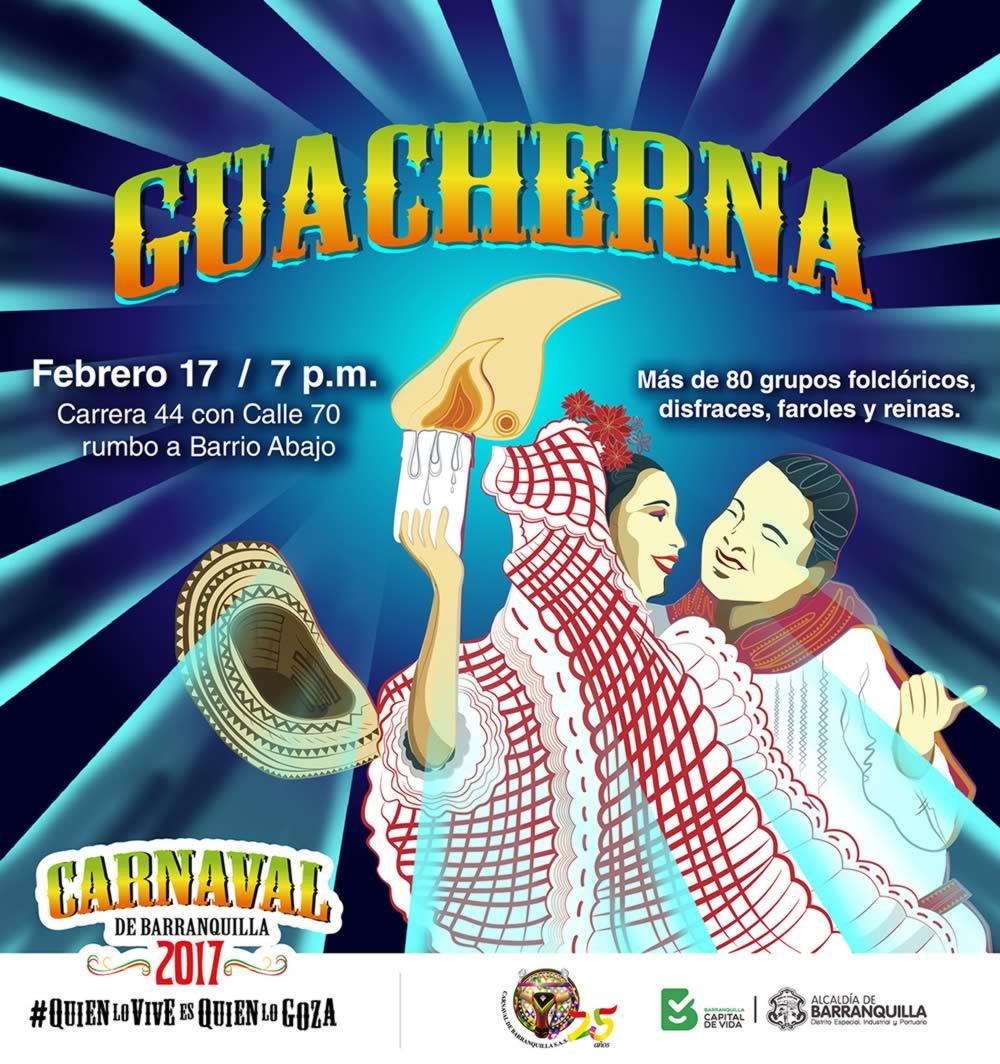 Barranquilla le canta a Esthercita Forero en la noche de Guacherna
