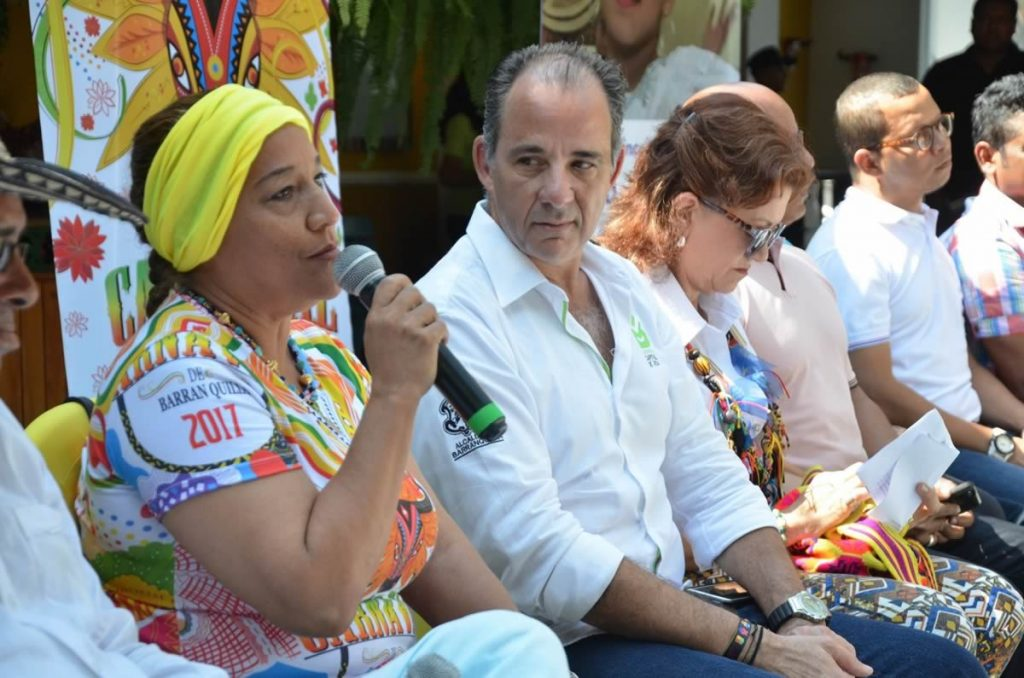Maribel Ejea, coordinadora Desfile del Rey Momo.
