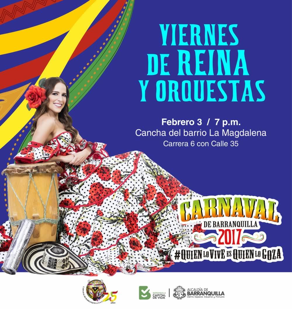La Cancha de La Magdalena se llena de música con el Viernes de Reina y Orquestas