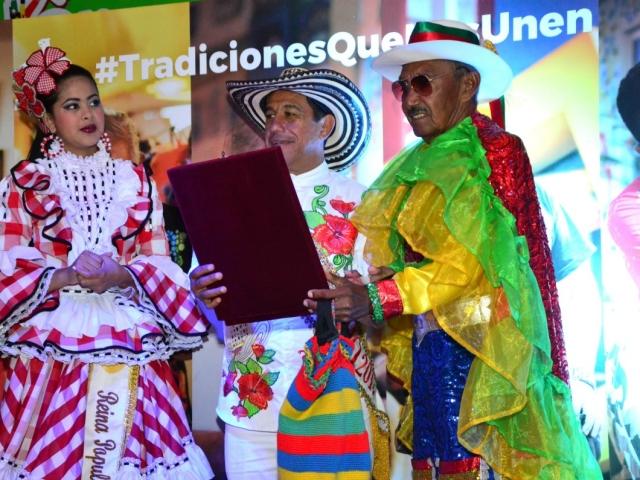 Alfonso Fontalvo heredó de sus ancestros la Danza de Congo El Torito Ribeño, la cual dirige desde hace más de 40 años.