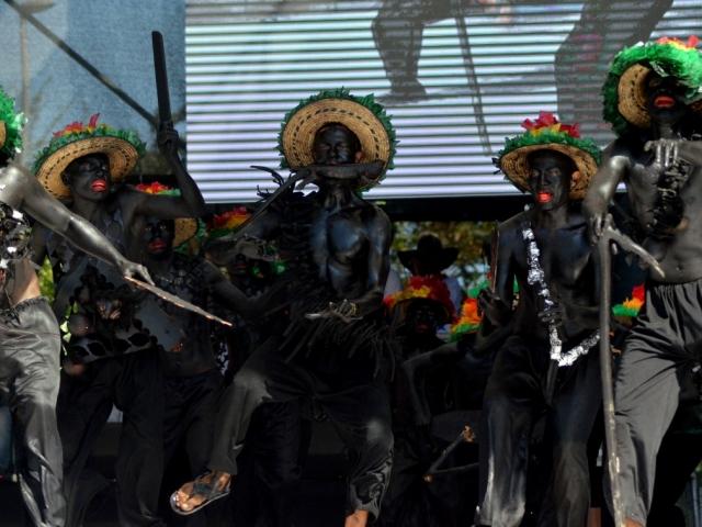 Danza Son Fuerza y Tambor, Congo de Oro 2017