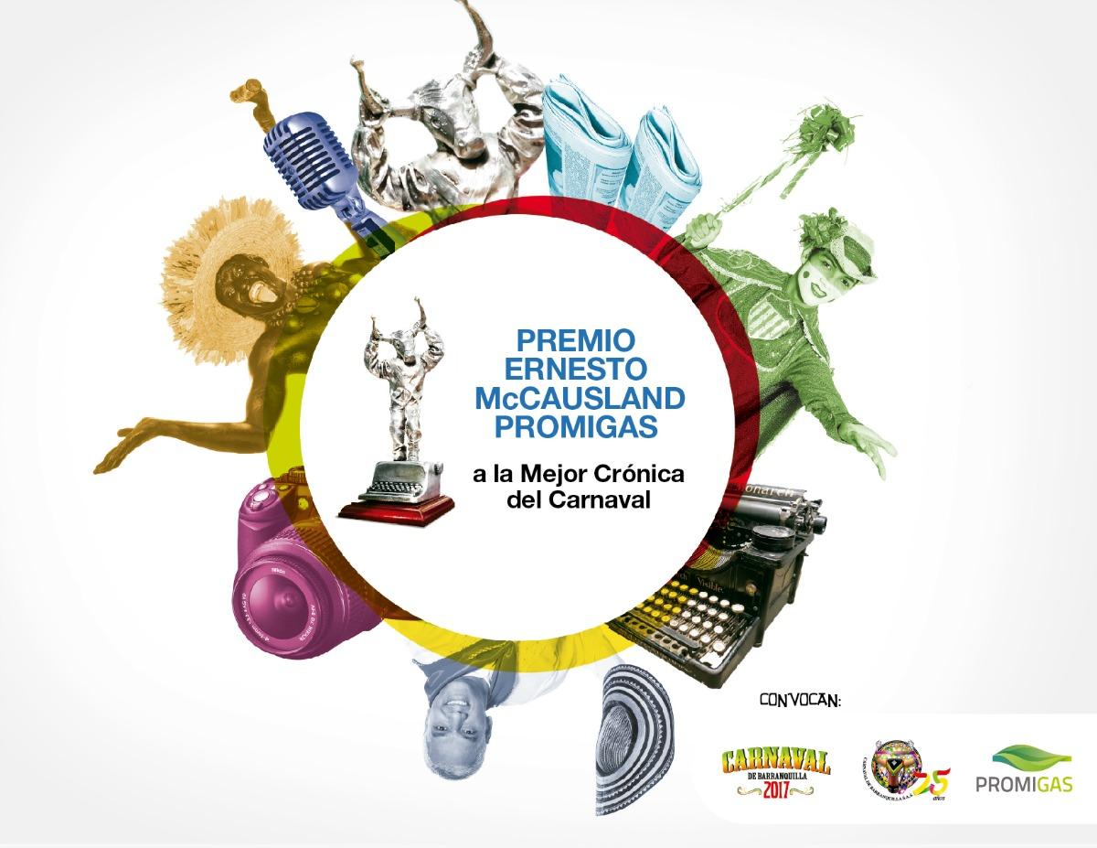 Hasta este viernes se reciben trabajos para el Premio 'Ernesto McCausland' Promigas