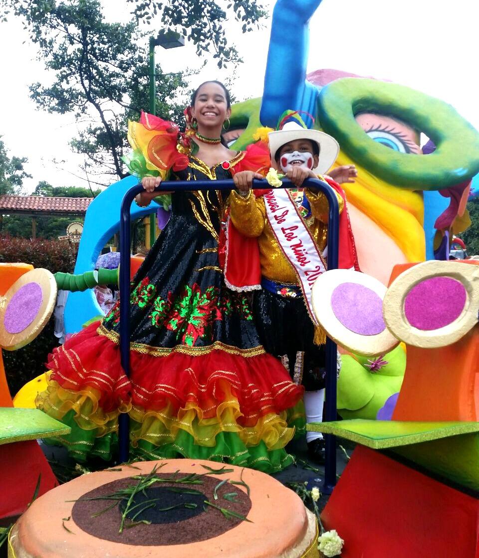 Los Reyes del Carnaval de los Niños, Alejandra Santiago y Gabriel Primera