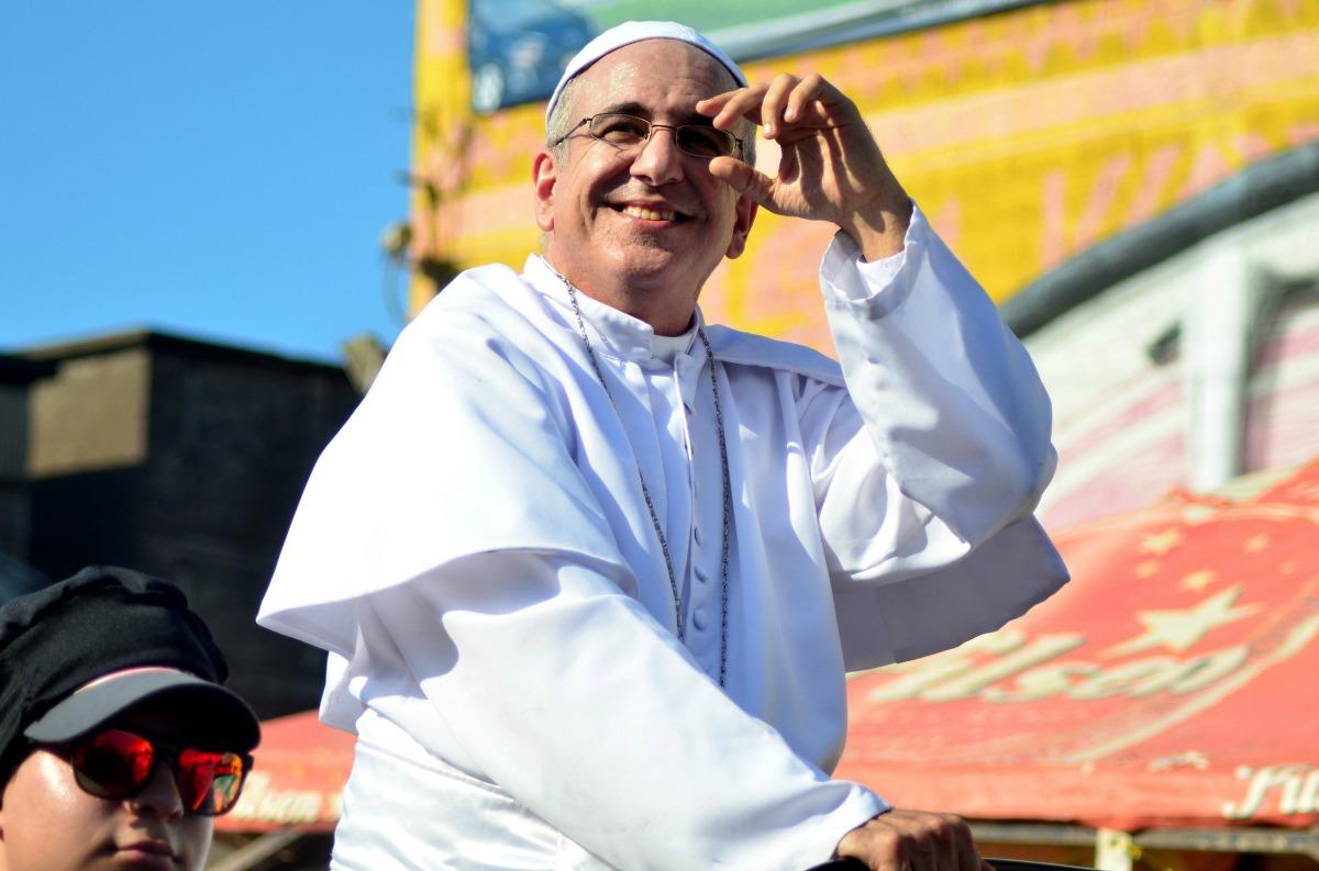 El Carnaval de Barranquilla tiene su propio 'Papa Francisco'
