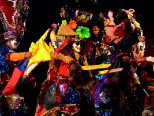 La Danza del Congo Reformado, con más de 60 años de participación en el Carnaval.