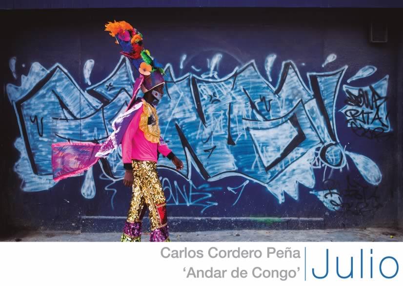 3. Julio, Andar de Congo,  Carlos Andrés 'Charlie' Cordero
