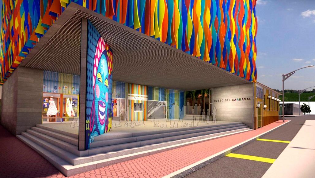 El Museo quedará ubicado en Barrio Abajo, junto a la Casa del Carnaval.