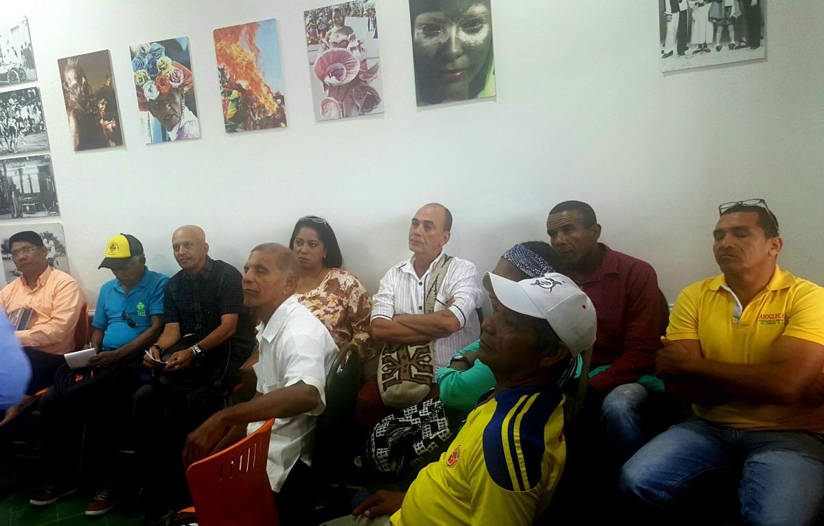 El taller de orientación se realizó en la Casa del Carnaval.