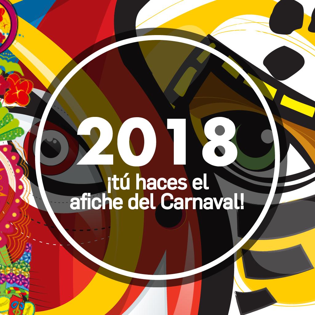 AFICHE DEL CARNAVAL DE BARRANQUILLA 2018