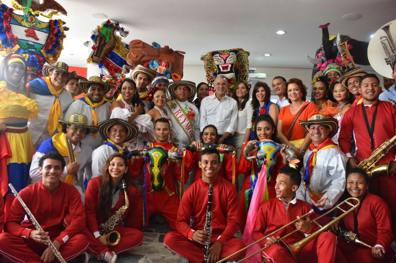 El Carnaval de Barranquilla celebra la fiesta de Independencia de Colombia en Uruguay