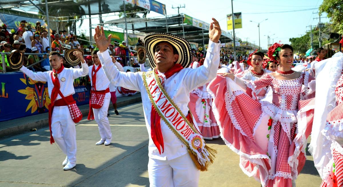 El Rey Momo llevó la riqueza del Carnaval a Montería