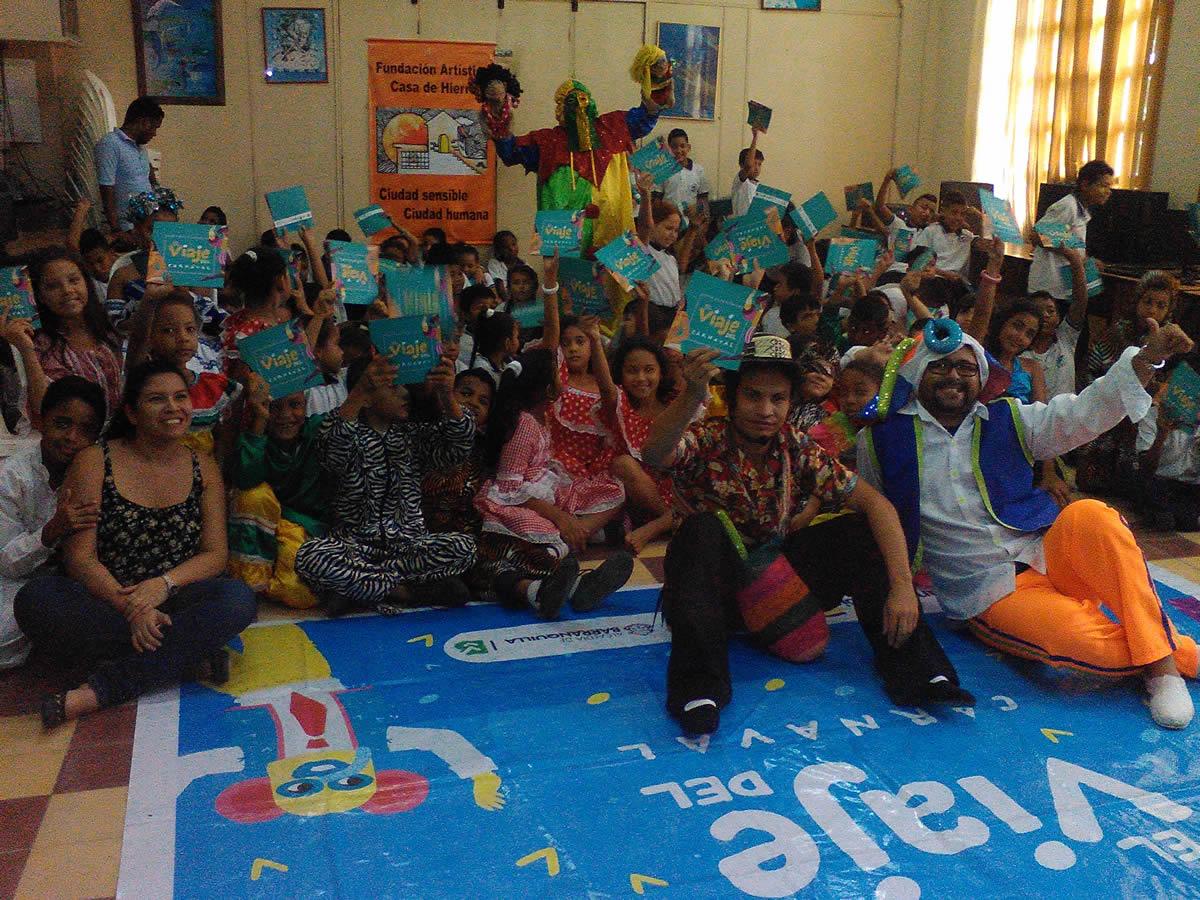 Dos mil niños barranquilleros han disfrutado 'El Viaje del Carnaval'