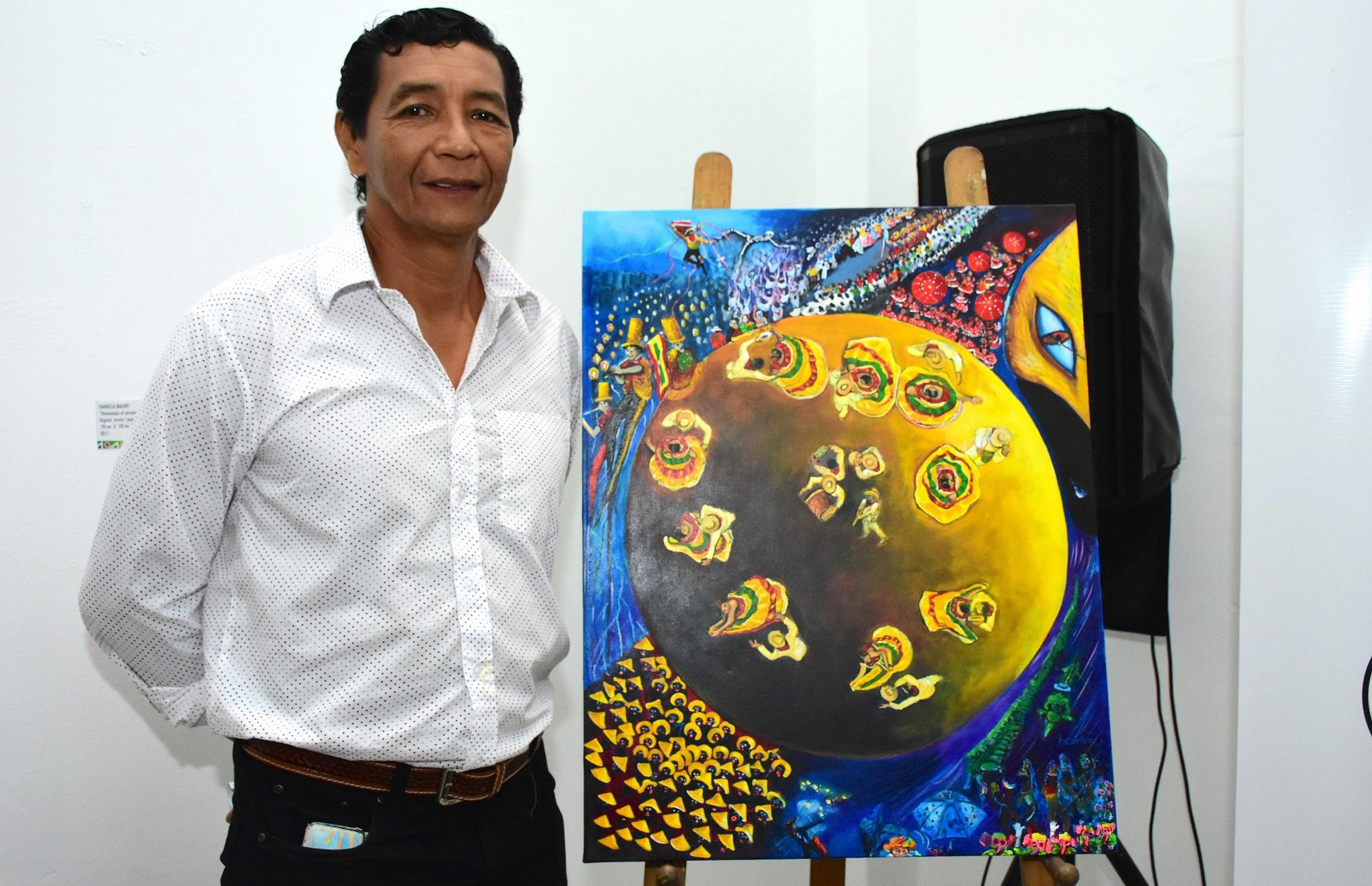 Meneando la Luna, afiche del Carnaval 2018