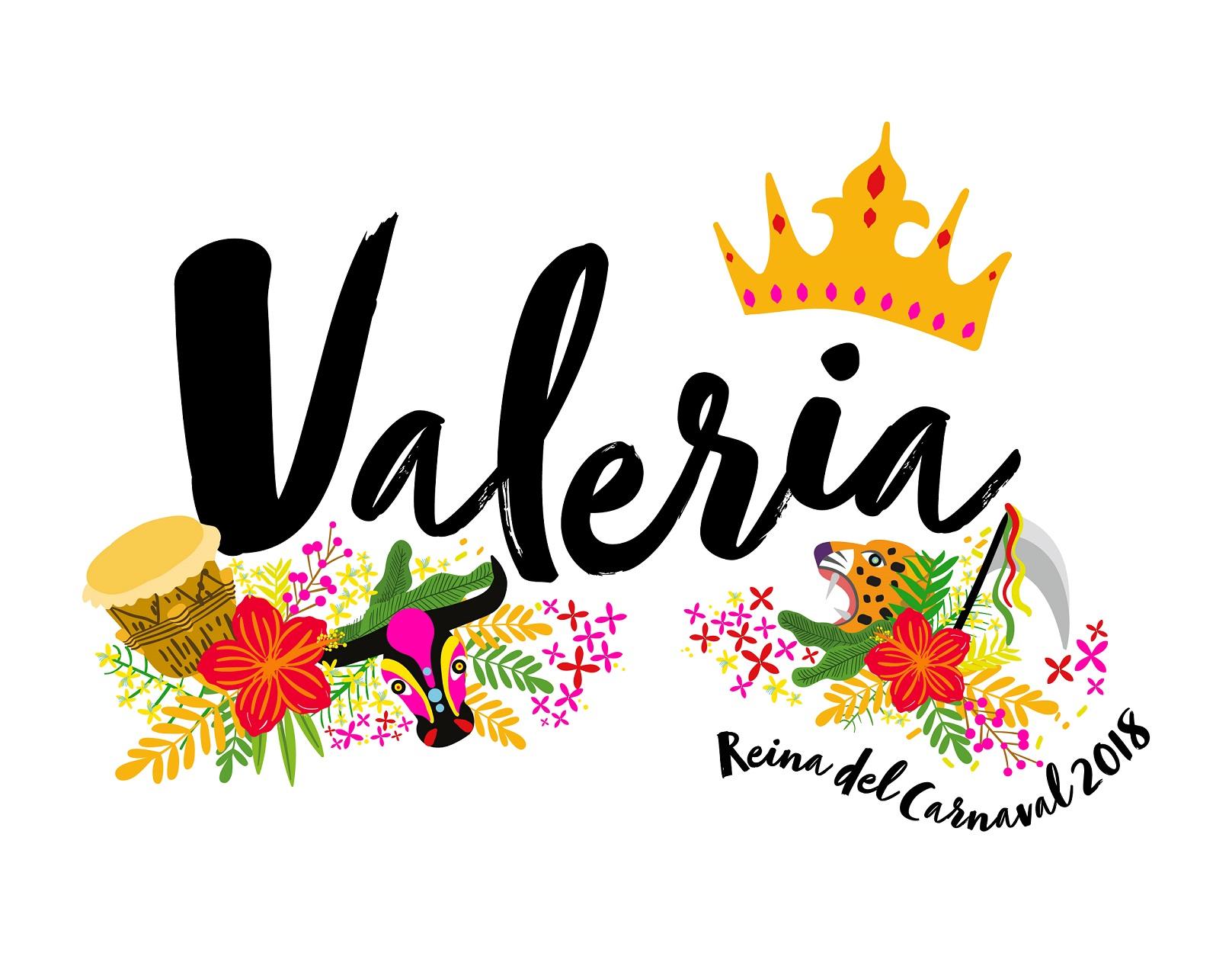 La Reina Valeria presenta su imagen inspirada en las flores del Caribe