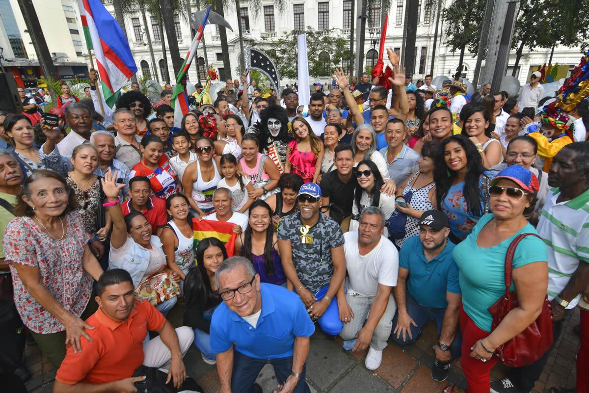 El Carnaval de Barranquilla cerró su gira nacional en la Sucursal del Cielo