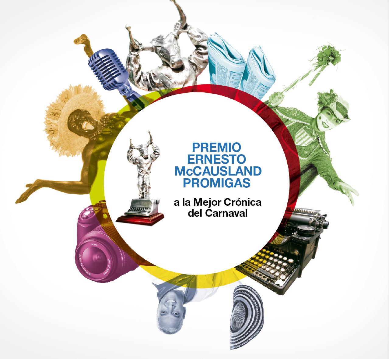 Premio de Periodismo Ernesto Mccausland a mejores historias del Carnaval