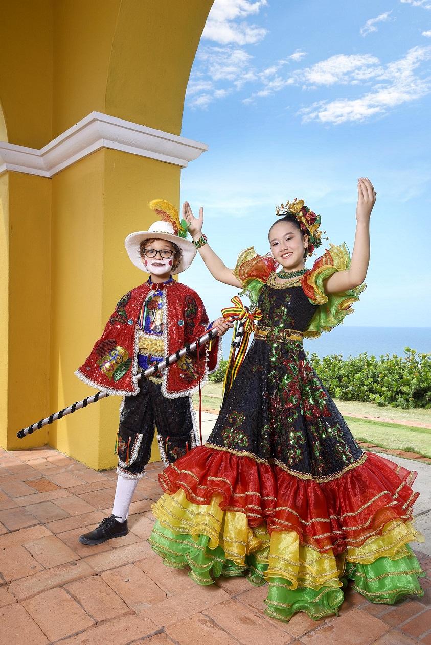 El Carnaval se vivirá y se gozará este fin de semana con Shadya y Sammy