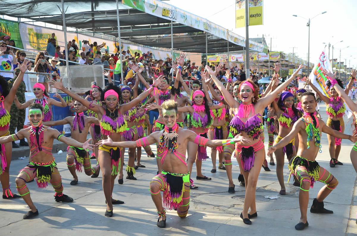 Comienza la fiesta más alegre de Colombia, el Carnaval de Barranquilla