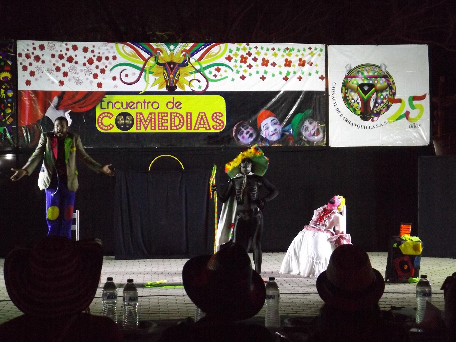 Noche de Comedias, un nuevo espacio para la expresión oral del Carnaval