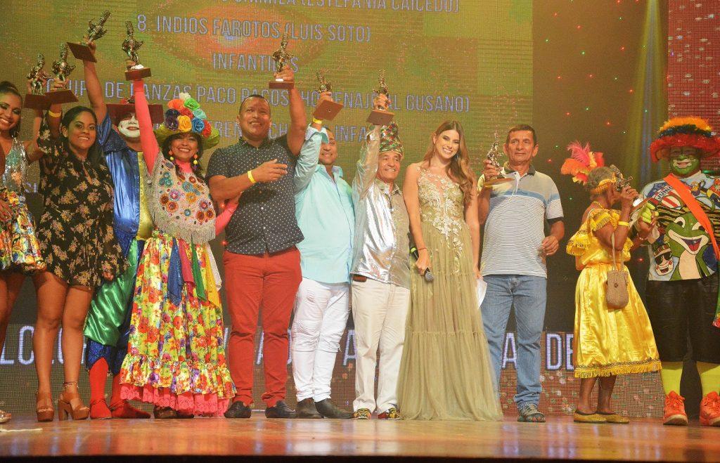 Ganadores Danzas de Relación y Especiales.