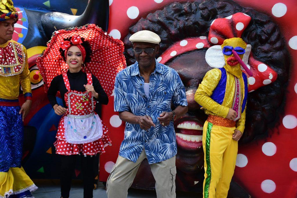 Al son de su tema 'Frutos del Carnaval', Valoy se tomó la Casa del Carnaval con la sabrosura de nuestra fiesta.