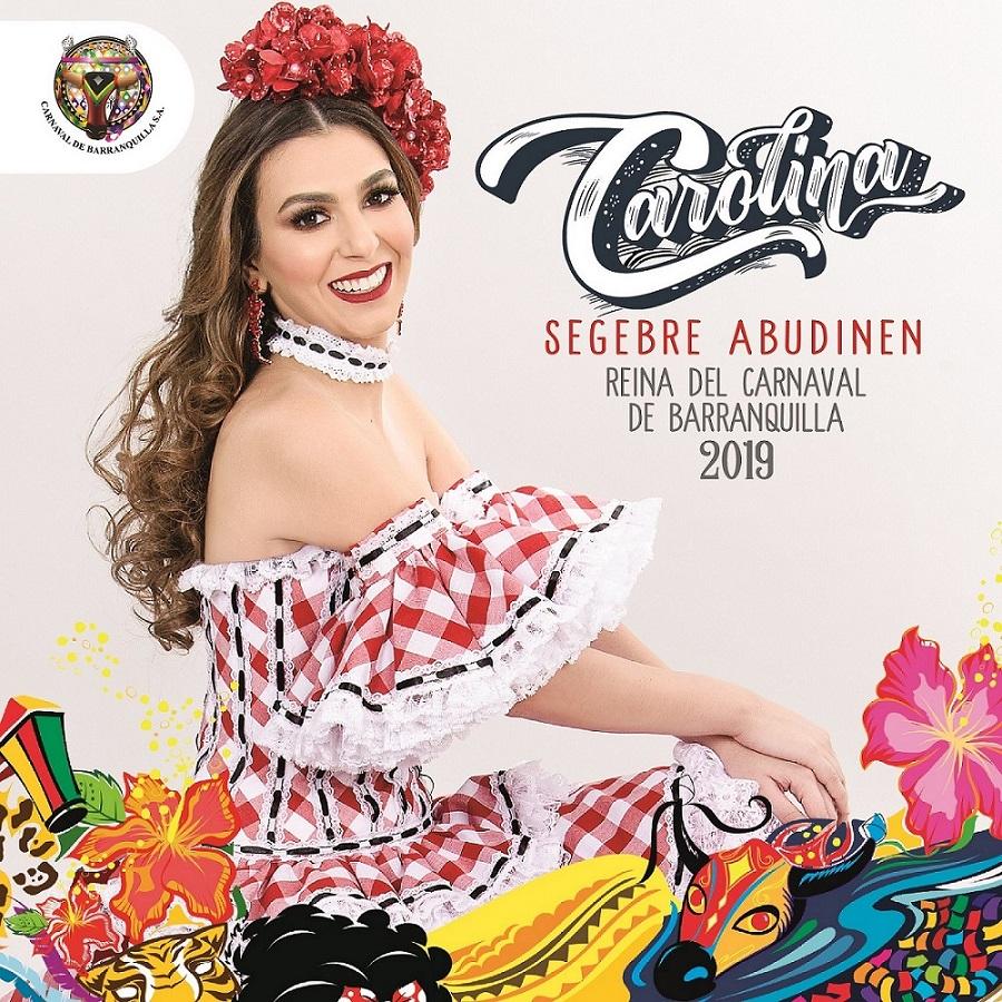 Carolina Segebre Abudinen es la Reina del Carnaval de Barranquilla 2019
