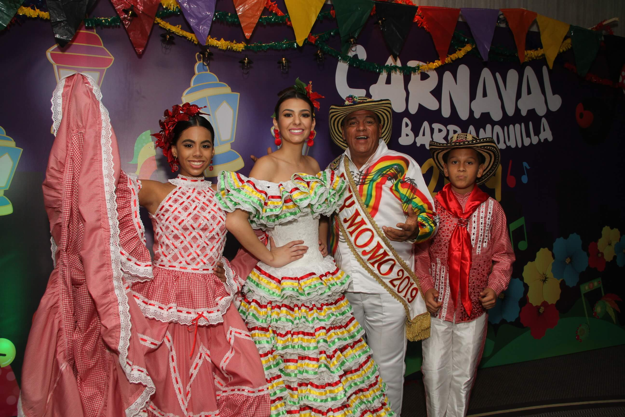 Reyes del Carnaval de Barranquilla se toman el municipio de Galapa