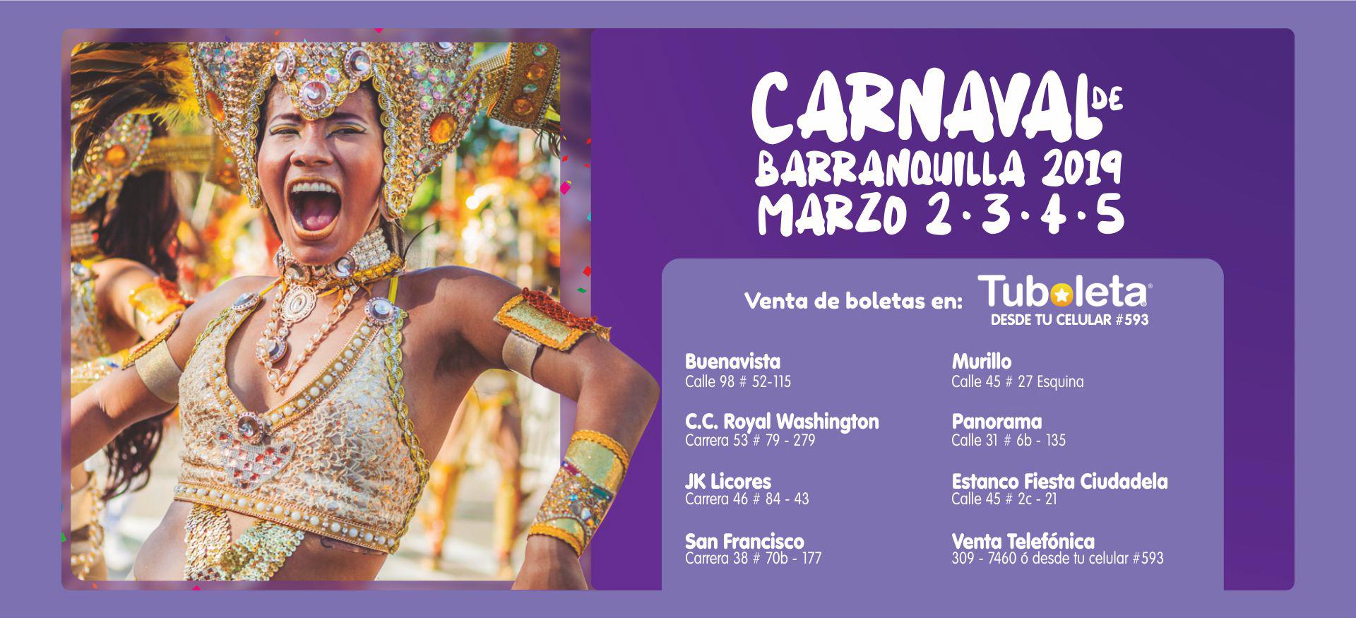 Desde el 1° de octubre disponible boletería para los desfiles del Carnaval 2019