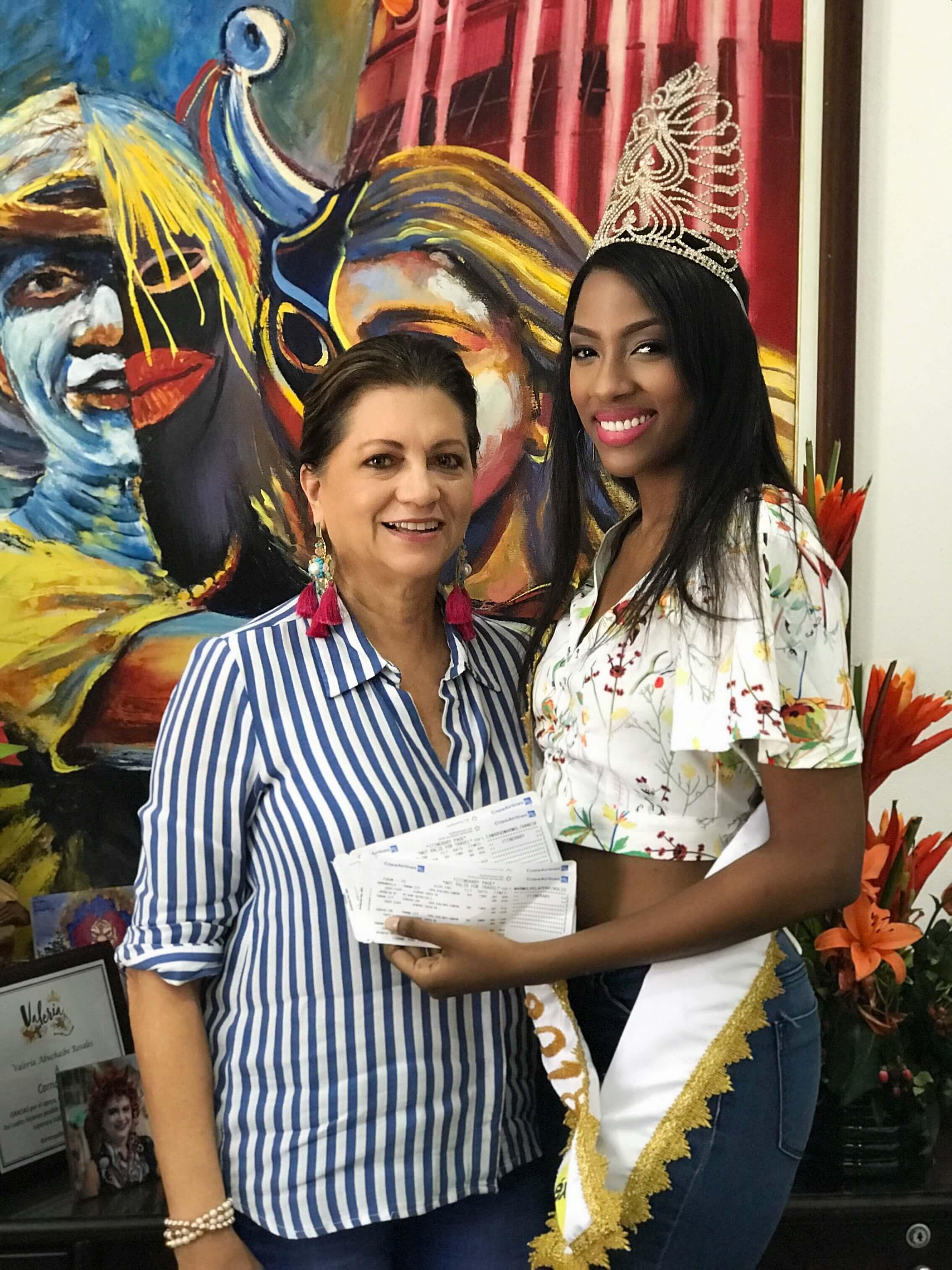 Reina Popular 2018 recibe tiquetes para Isla del Caribe