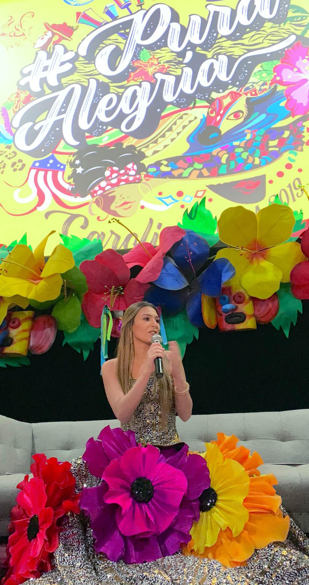 Con 'Pura Alegría', la Reina Carolina pondrá a bailar a todo el mundo en el Carnaval 2019