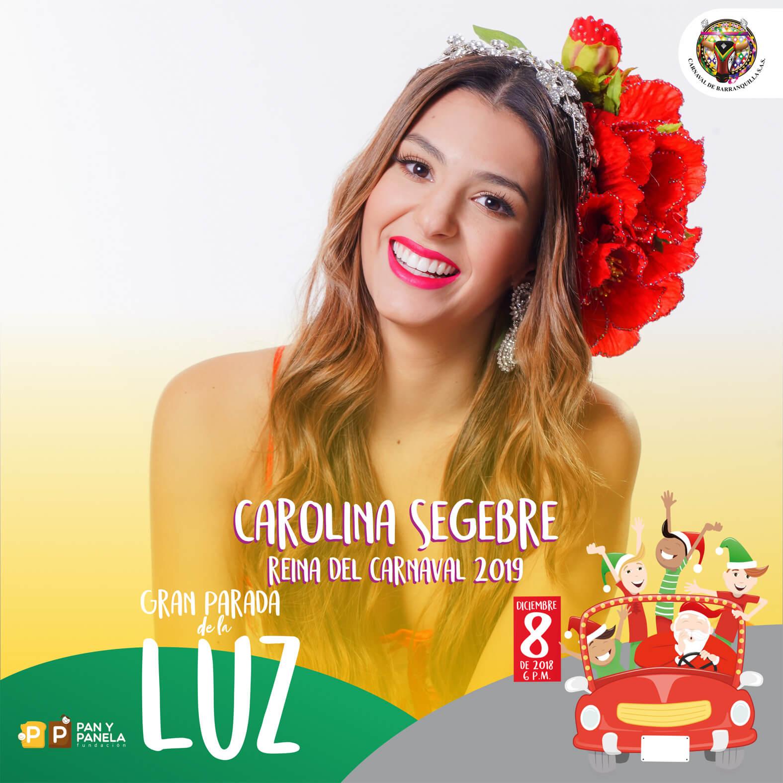 Reyes del Carnaval de Barranquilla presiden 'La Gran Parada de la Luz'