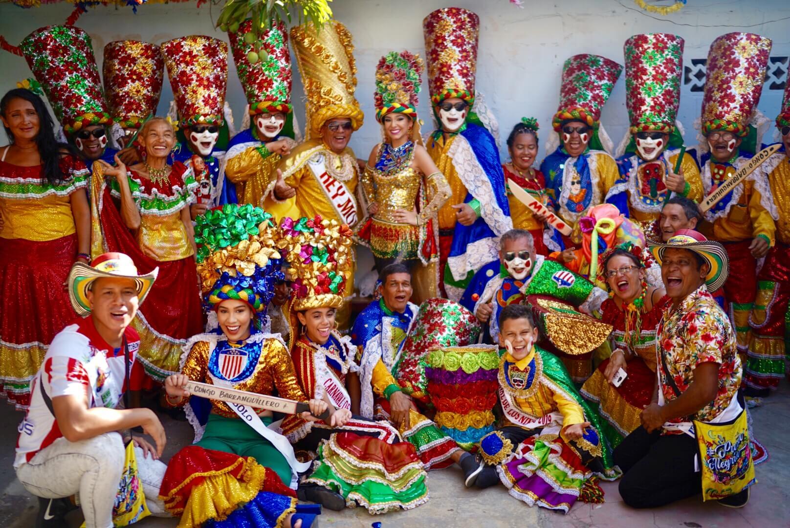 Pre Carnaval inició con la tradición en izadas de bandera de Cumbias y Congos