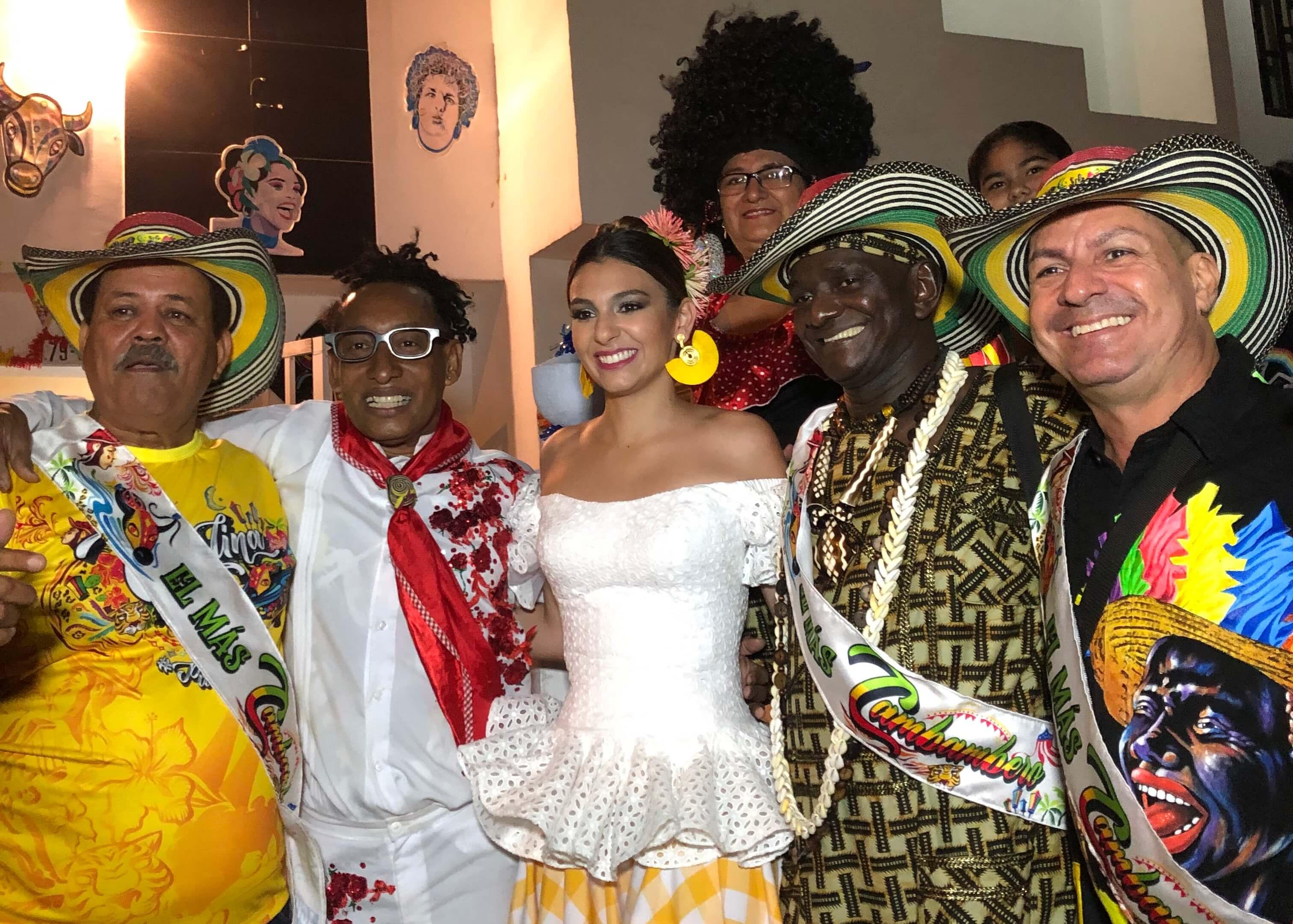 Reyes Momos del Carnaval se unieron a la primera Ruta de la Alegría en el 2019