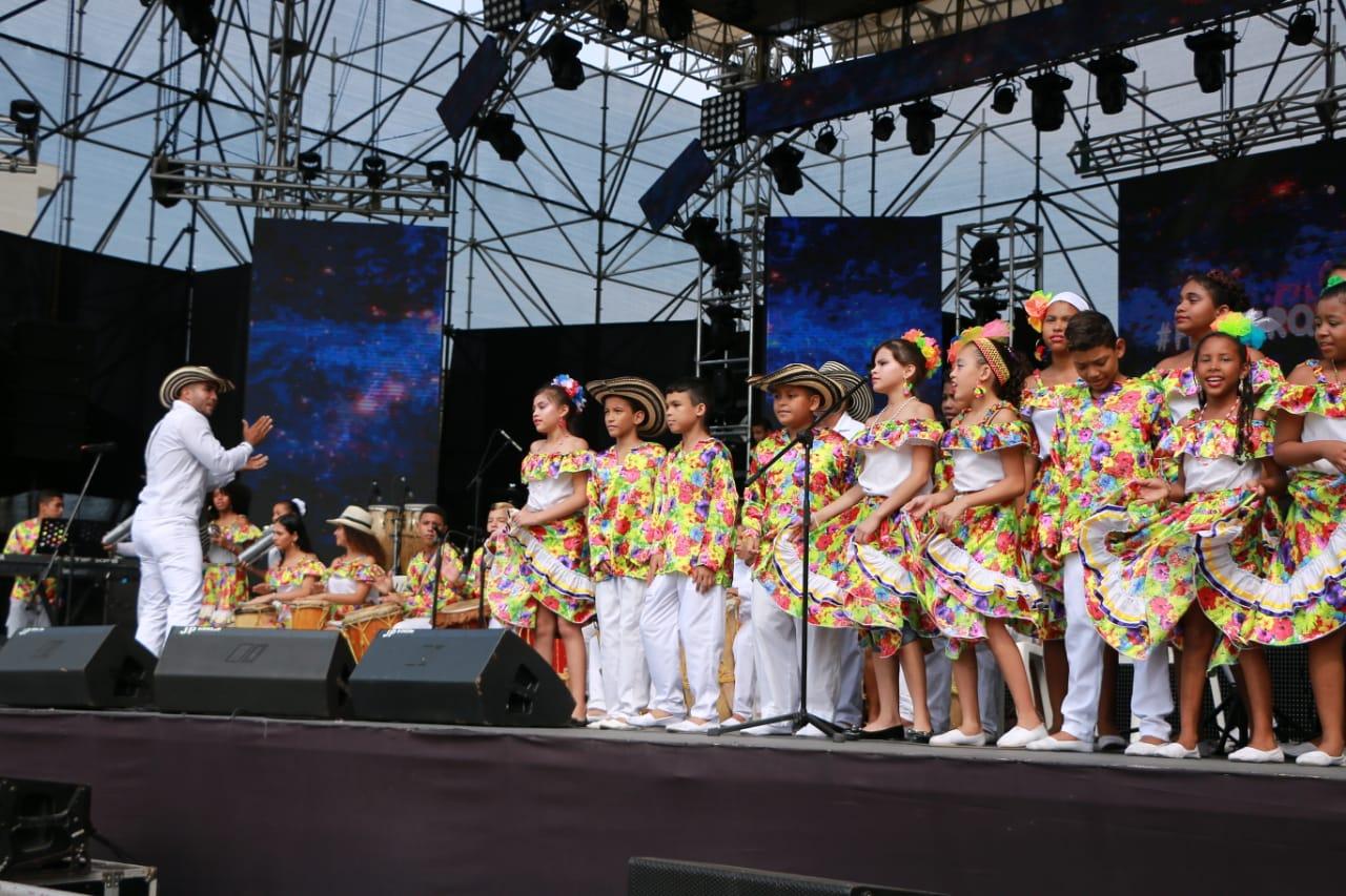 #FestiOrquestas50Años, una celebración que baila y goza Barranquilla