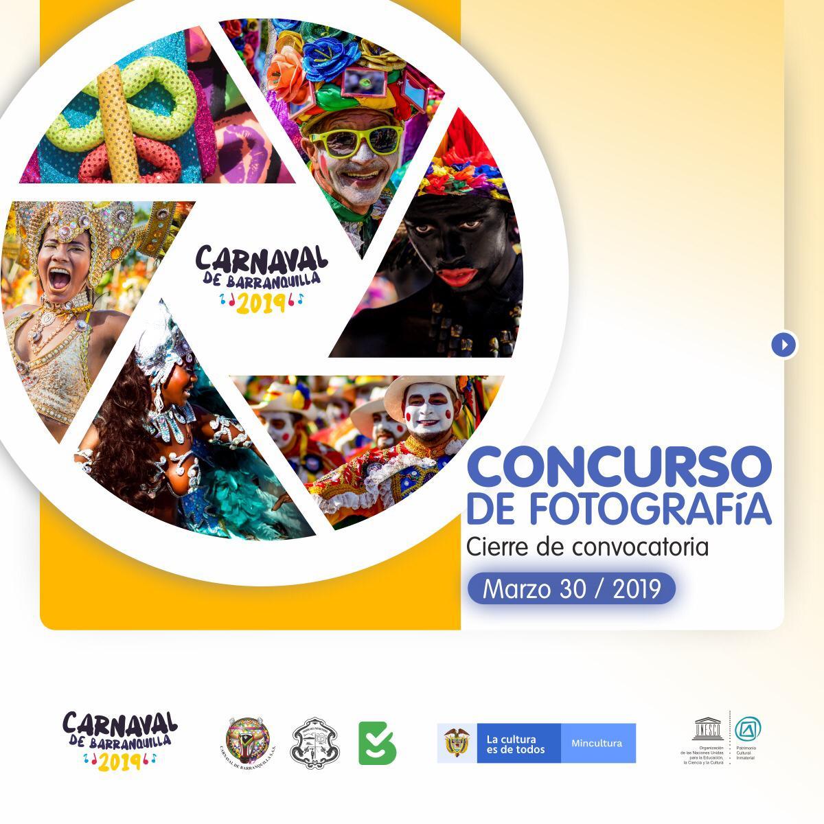 Abierta convocatoria del Concurso Nacional de Fotografía del Carnaval de Barranquilla