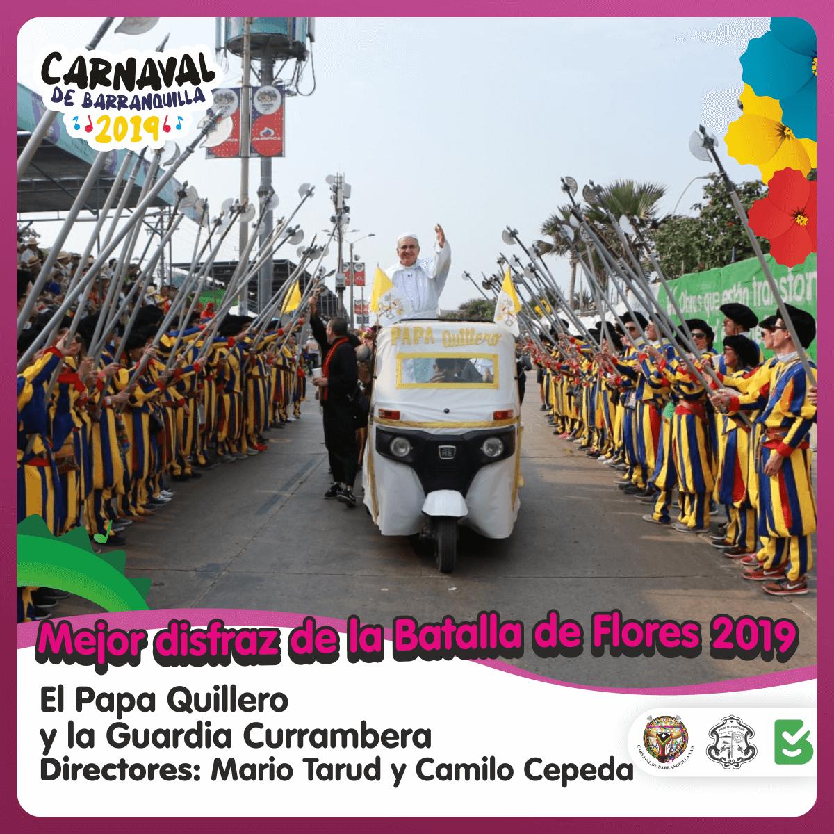 Ganadores de los concursos del Carnaval 2019
