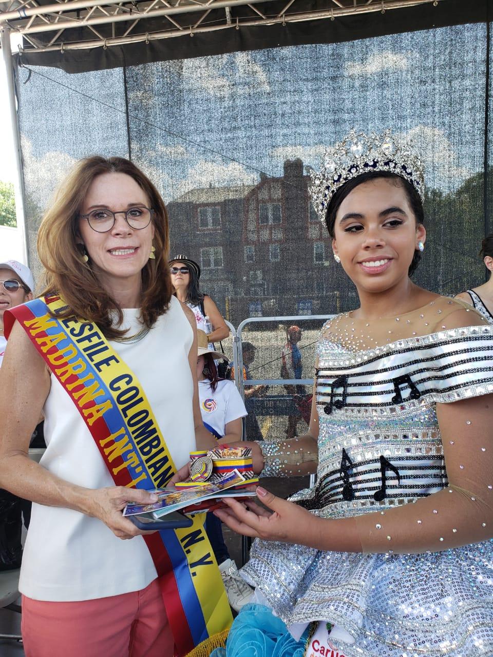 El Carnaval estuvo en el Desfile colombiano en New York
