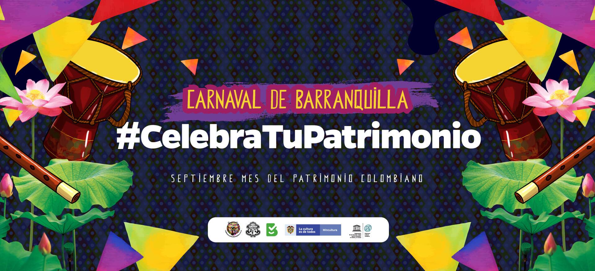 Carnaval celebra el Patrimonio Cultural de la Fiesta más grande de Colombia