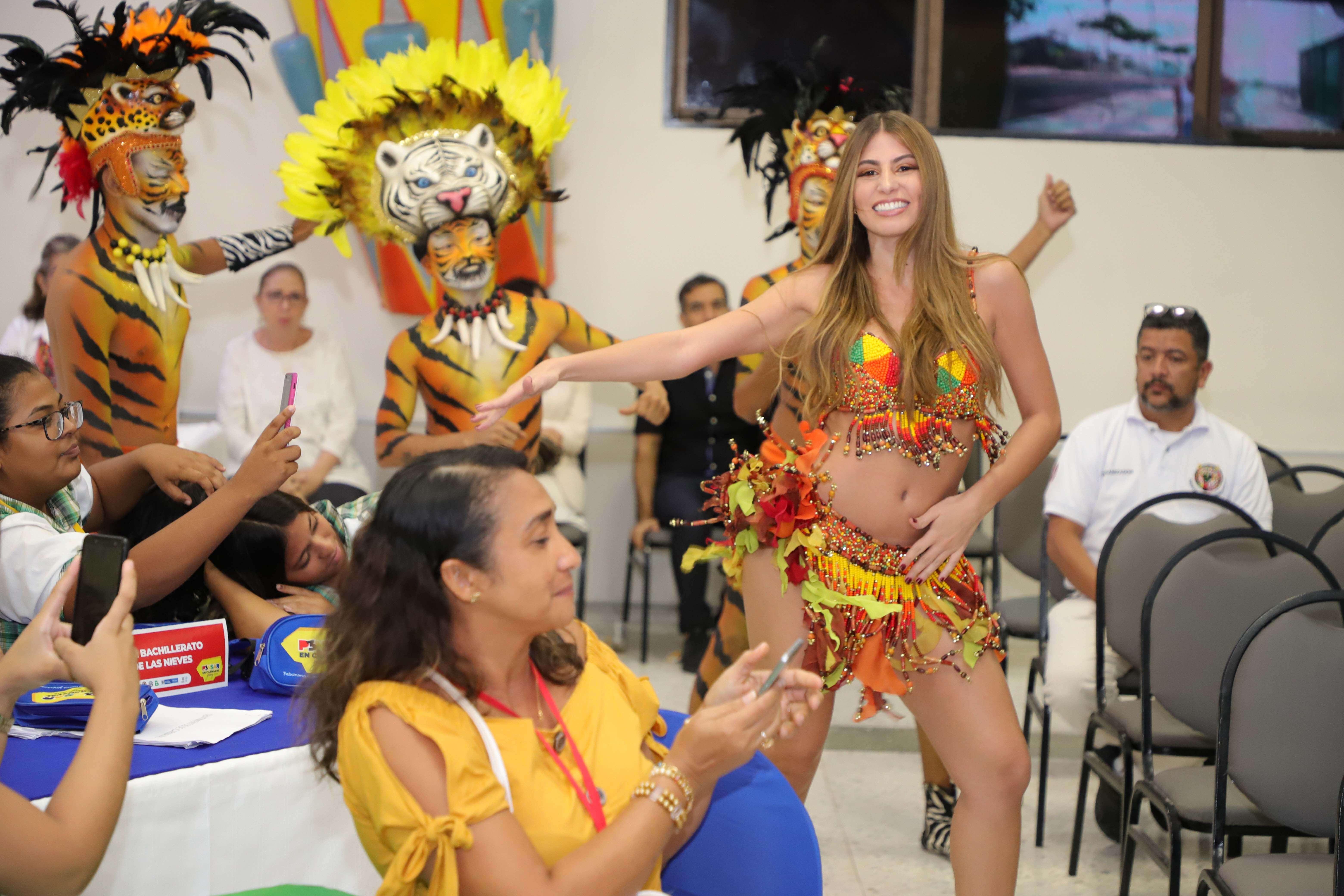 Reina del Carnaval y Selva Africana cierran con broche de oro primer día de Encuentro de Jóvenes