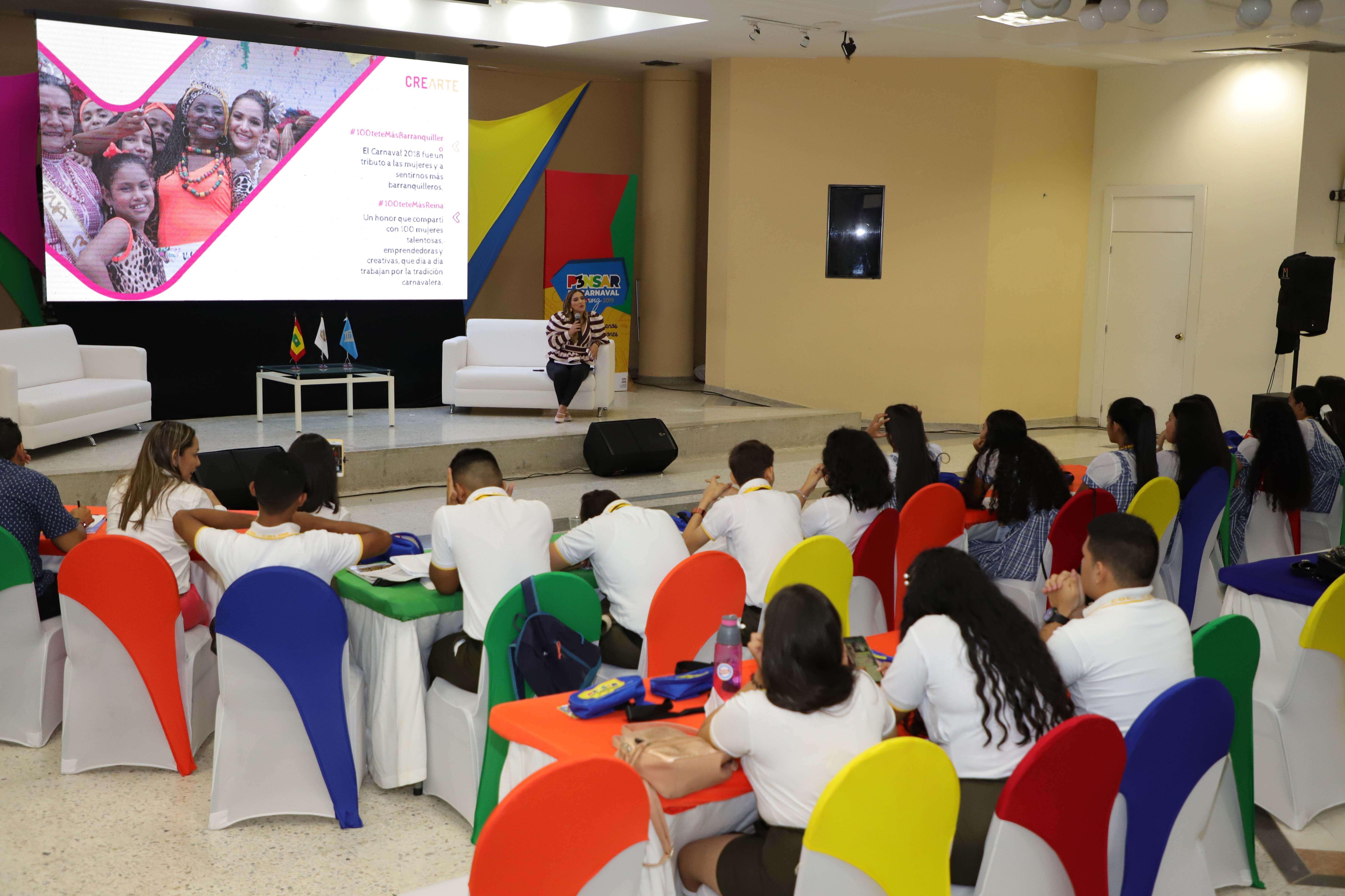 Primer Encuentro de Carnaval para jóvenes, una jornada llena de experiencias